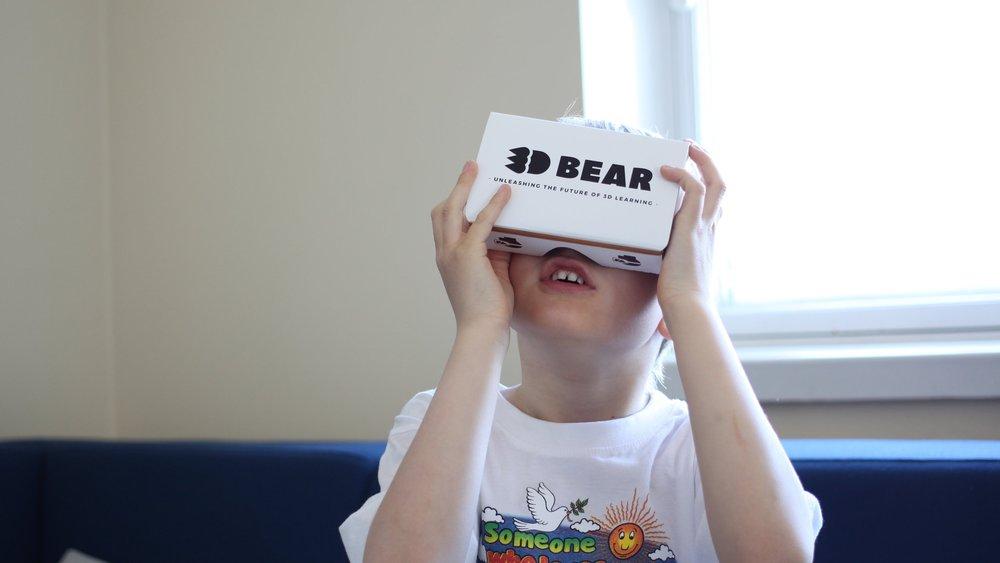 Virtuaalitodellisuutta - 3DBearin kanssa