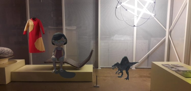 Design+WeeGee -tapahtumassa osallistettiin muotoilemaan museota lisätyssä todellisuudessa.
